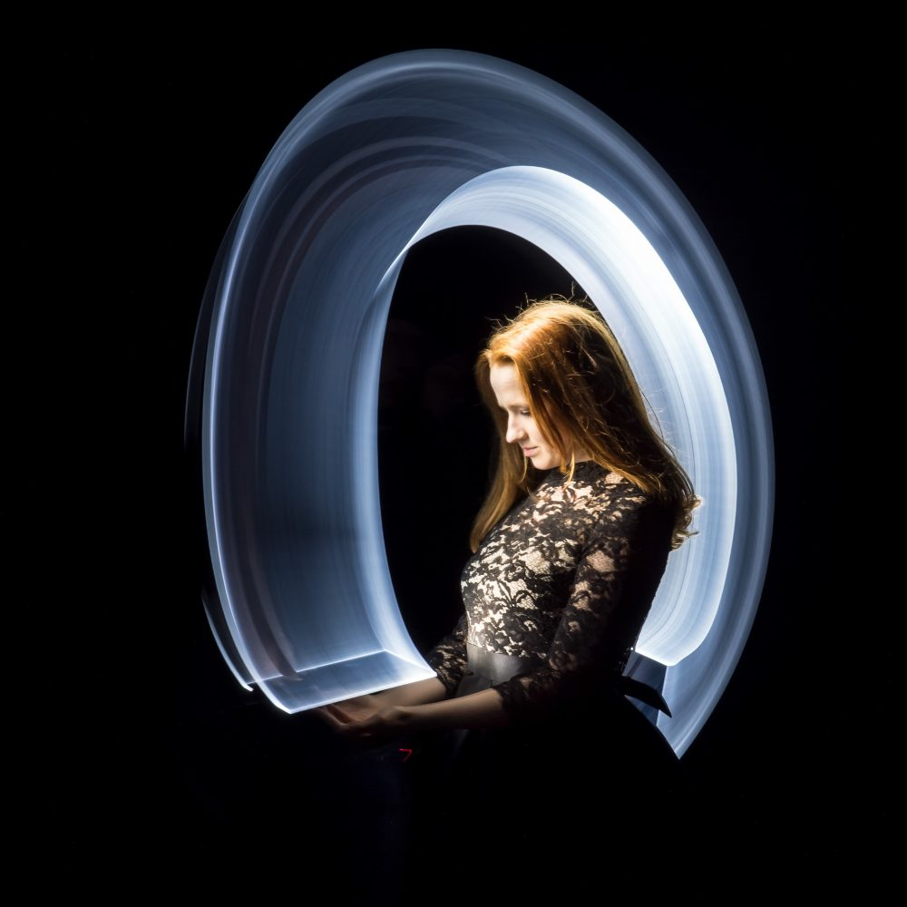 Lightpainting-session with Lena Rodlsberger (7/8)