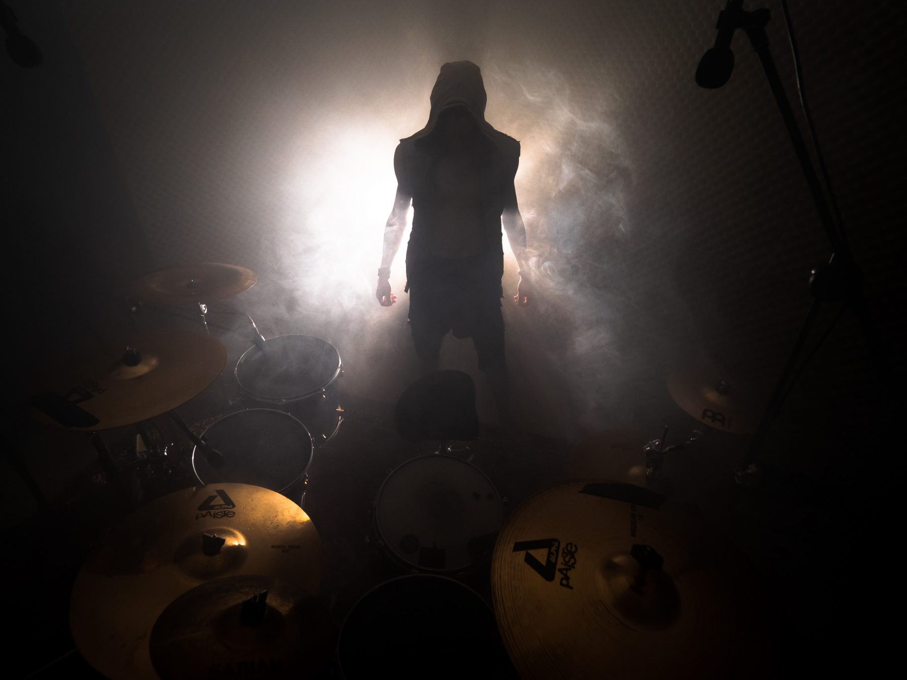 on the set for a drum cover with Clemens Recheis (1/2)